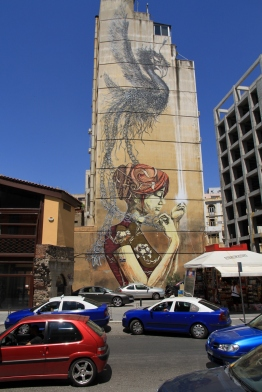 Street Art in Thessaloniki, Griechenland