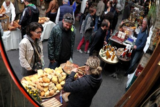 Bauernmarkt im Szimpla Kert - Budapest