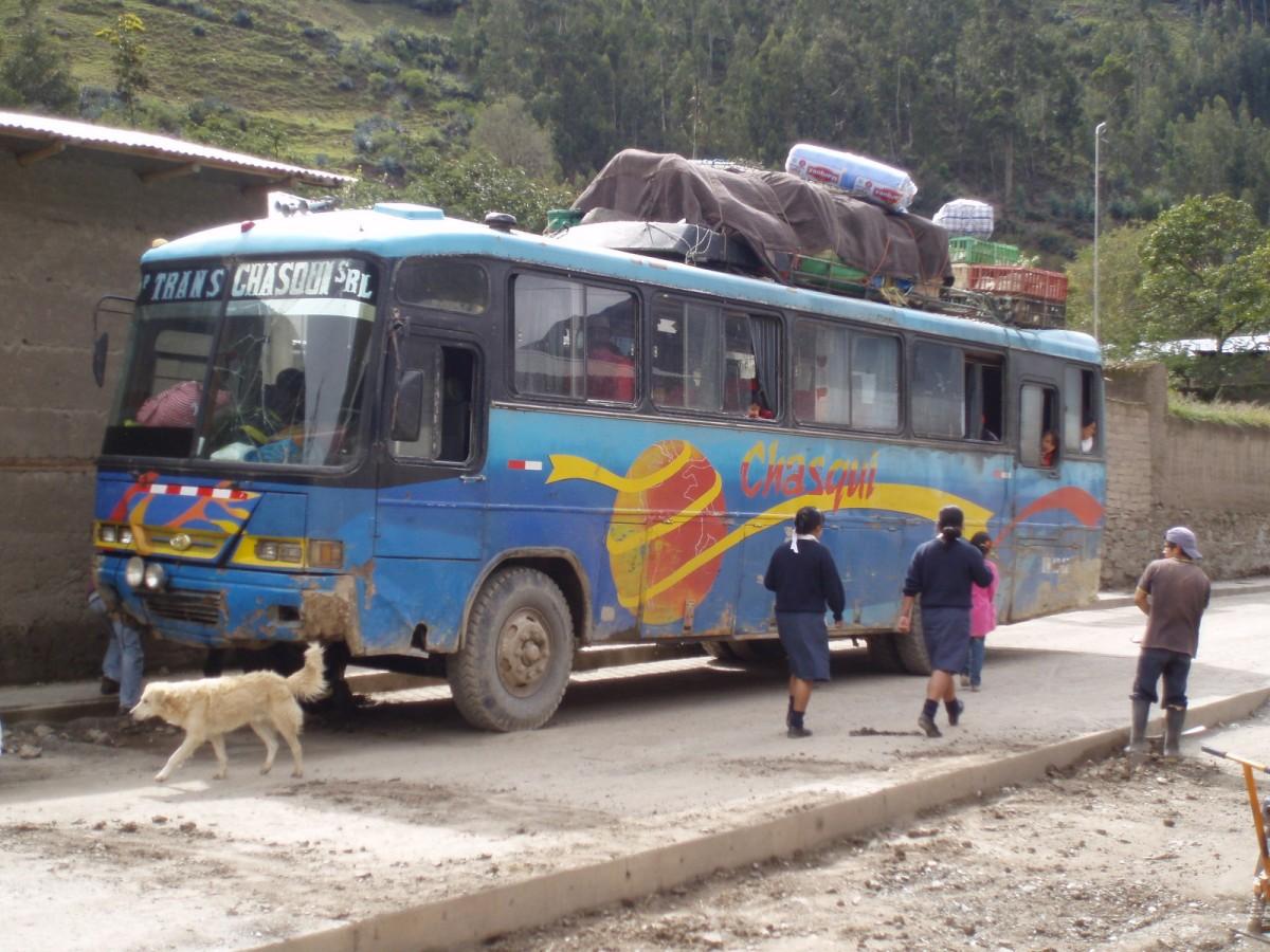 Bus nach Tantamayo