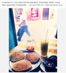 Tag 11, Pancake, Mérida