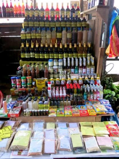 Marktstand in Iquitos