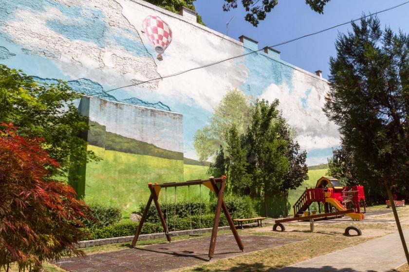 Spielplatz Ecke Ecke Kazinczy utca/Kiraly utca