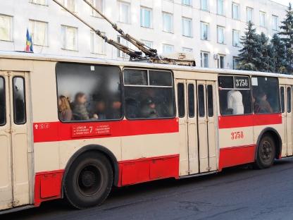 Bus, Chișinău, Moldau