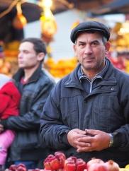 Obstverkäufer Markt Chișinău