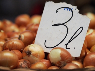 Zwiebeln Markt Chișinău