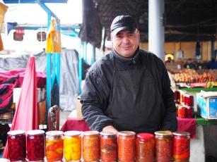 Verkäufer Markt Chișinău