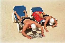 Martin Parr Life's a beach © Martin Parr/Magnum Photos
